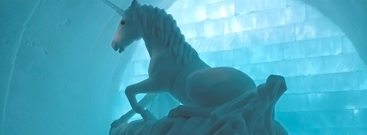 Unicorn Icehotel Sweden