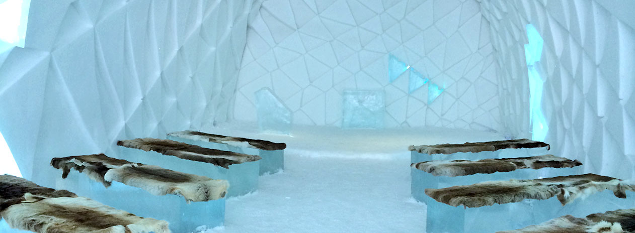 Sleeping room Icehotel