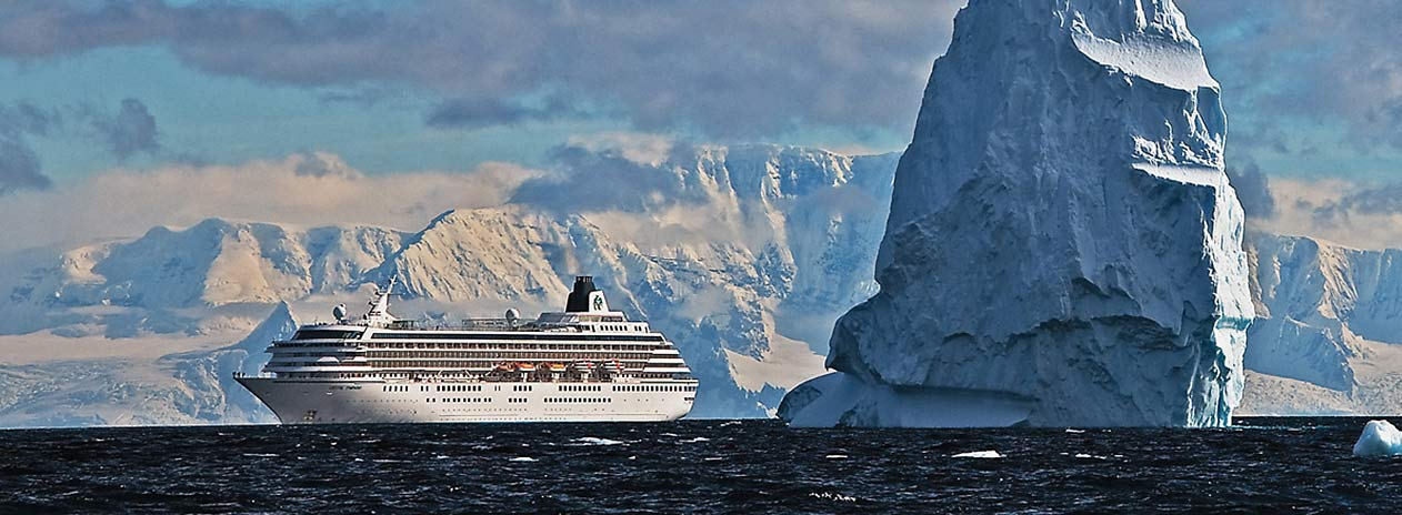 Crystal Cruises in der Antarktis