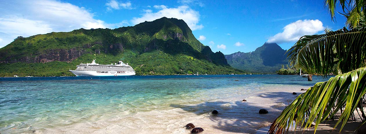 Crystal Cruises in Moorea