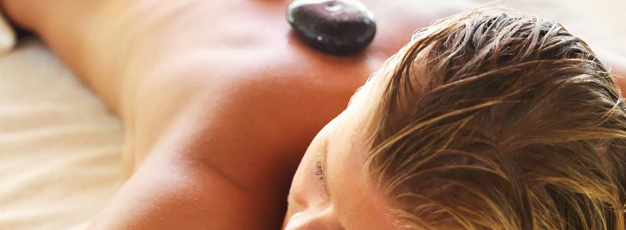 Spa Hot Stone Treatment