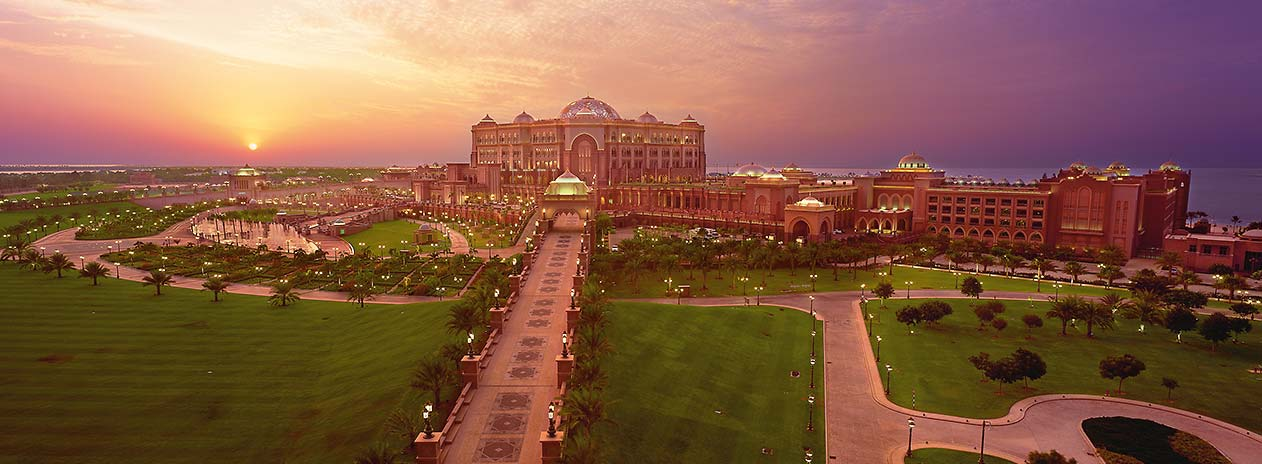 Emirates Palace Sunrise