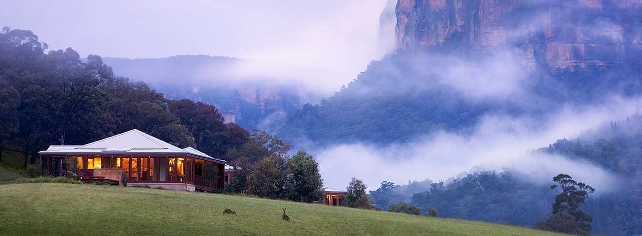 Suite and Cliffs in Mist