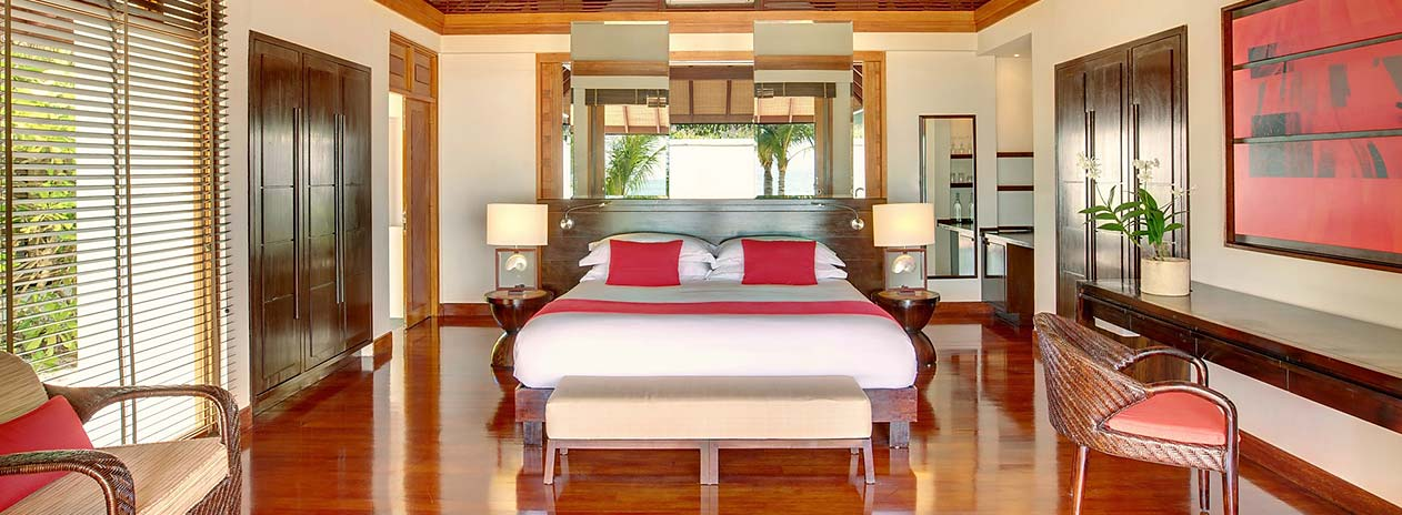 LUX South Ari Atoll Bedroom