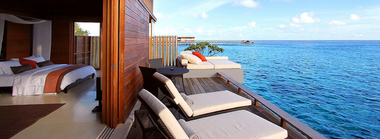 Park Hyatt Maldives Deck