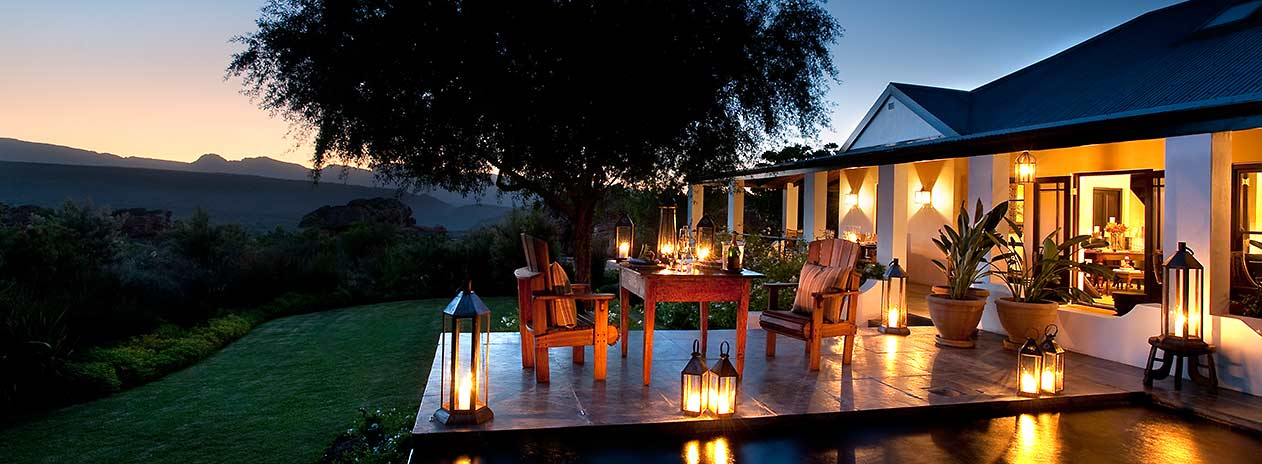 Suedafrika Bushmans Kloof Koro Lodge