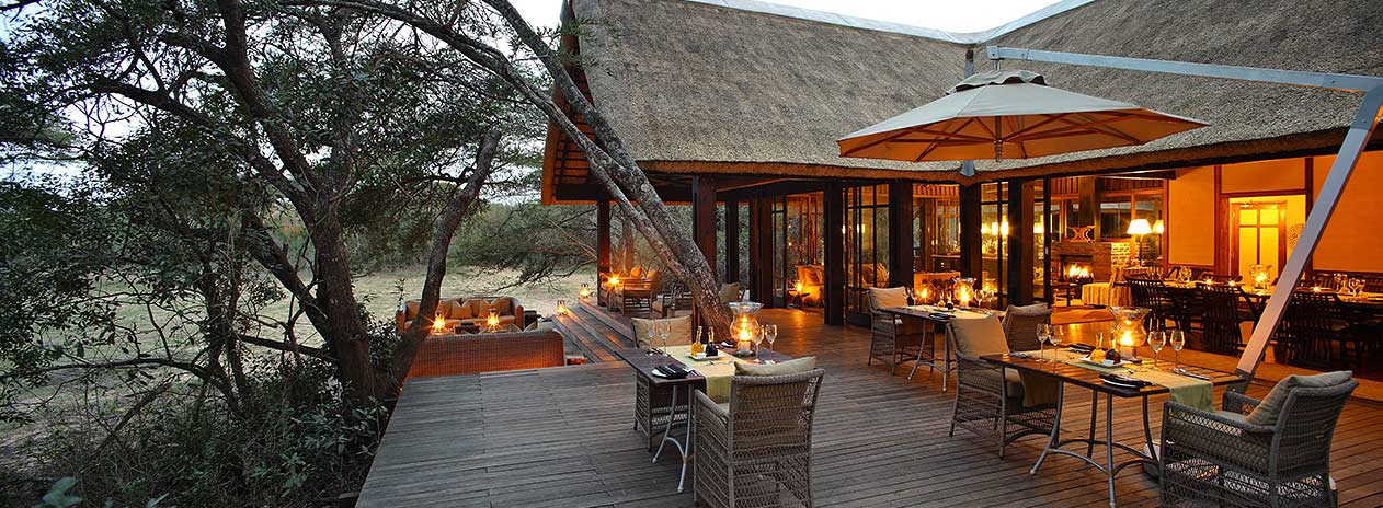 Natal Phinda Mountain Lodge Suedafrika Restaurant