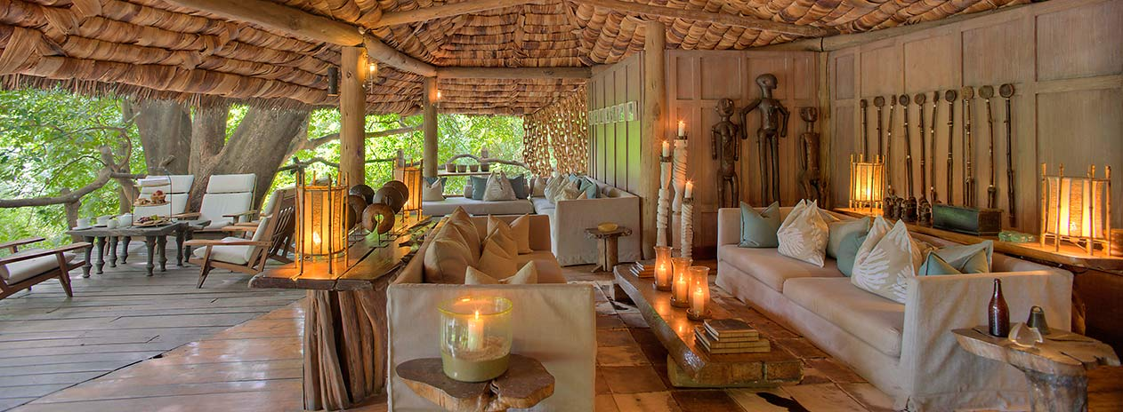 andBeyond Lake Manyara Tree Lodge Living room