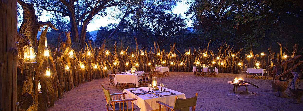 andBeyond Lake Manyara Tree Lodge Dining