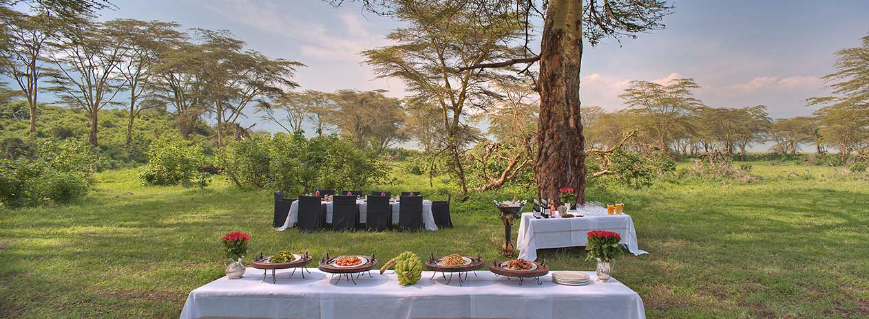 andBeyond Ngorongoro Crater Lodge Drinkstop