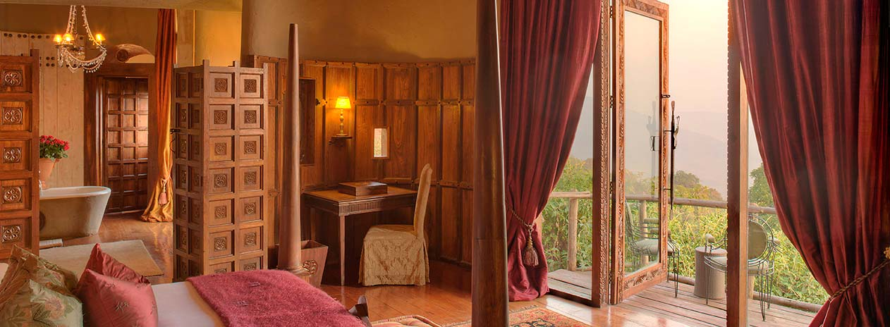 andBeyond Ngorongoro Crater Lodge Guestroom