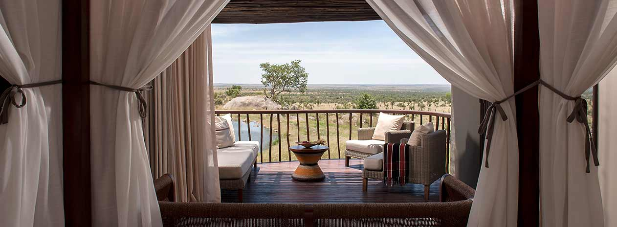 Serengeti Four Seasons Safari Lodge Balcony view