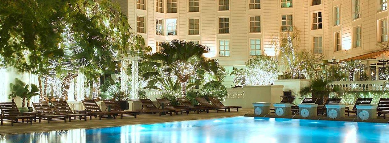 Sofitel legend metropole hanoi design travel ag for Garden pool hanoi